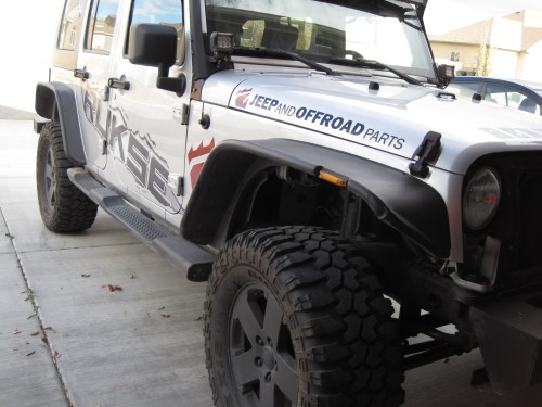 Bushwacker Flat Fender Flares for the Jeep Wrangler JK ...