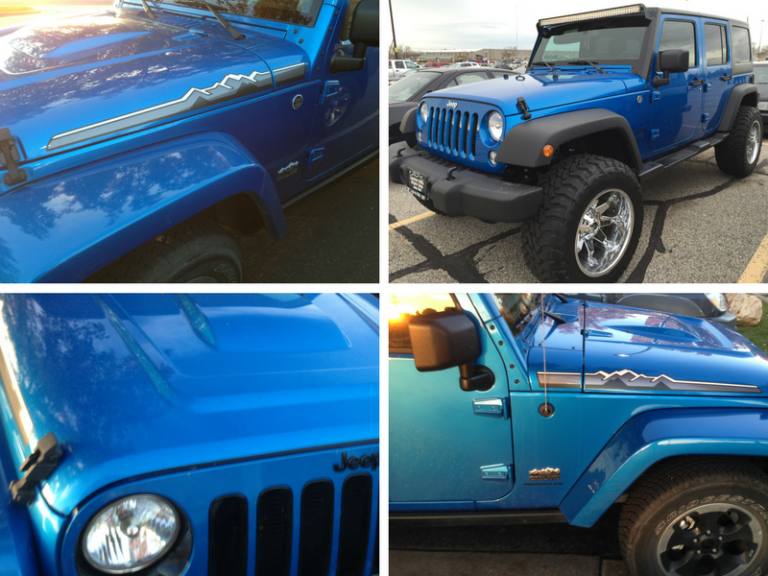 We Are Feeling Blue For The Jeep Wrangler JK – All Blue Colored JKs