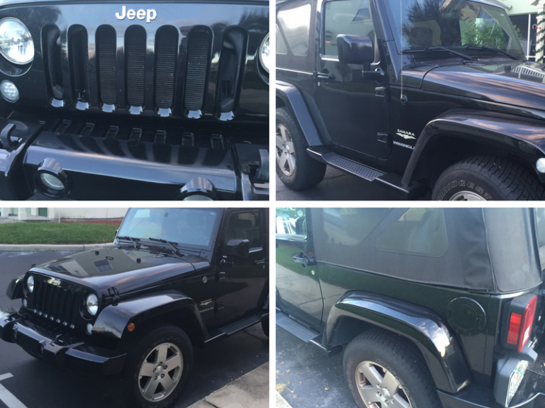 The Jeep Hunter Finds a Nice Black Stock Wrangler JK and a Few Others