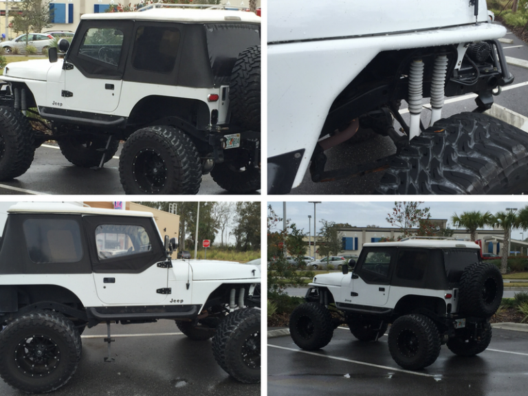 The Jeep Hunter Finds a Crazy Built Out Wrangler YJ