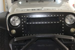A Review of a Jeep Wrangler JK Custom Grille with Light Bar Cutout