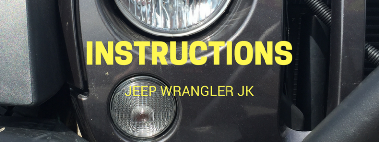 Instruction Library for Jeep Wrangler JK by Vendor in PDF Format