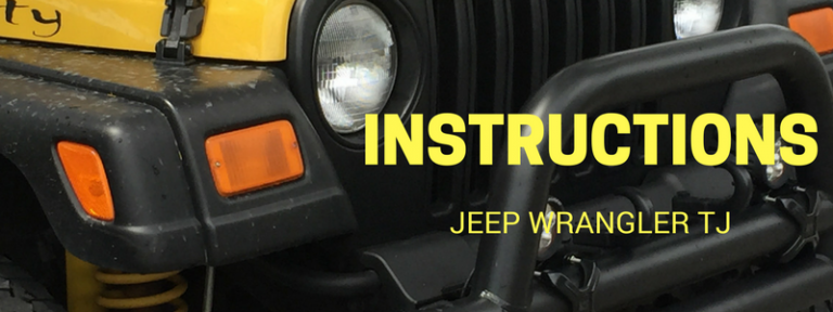 Instruction Library for Jeep Wrangler TJ by Vendor in PDF Format