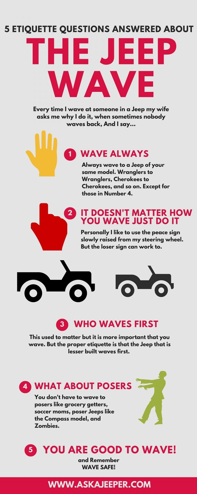 5 Etiquette Questions Answered About The Jeep Wave