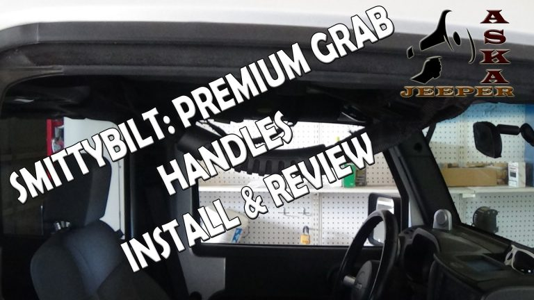 Review of Premium Grab Handle Kit for Wrangler JK