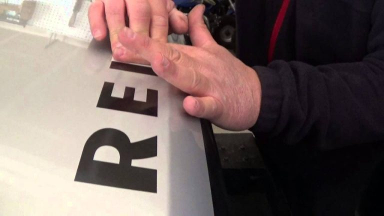 How to Install Vinyl Decals – Example is a Hood Decal on a Jeep Wrangler JK