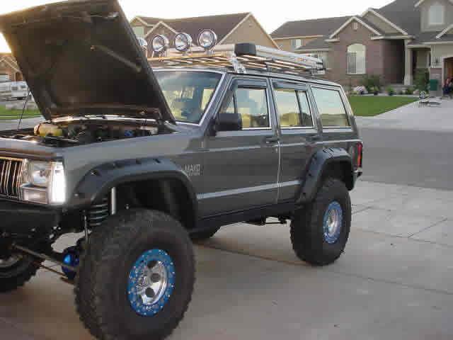 Grey 1988 Jeep Cherokee Xj Build Auto W 4 0 Engine Gpr Dna