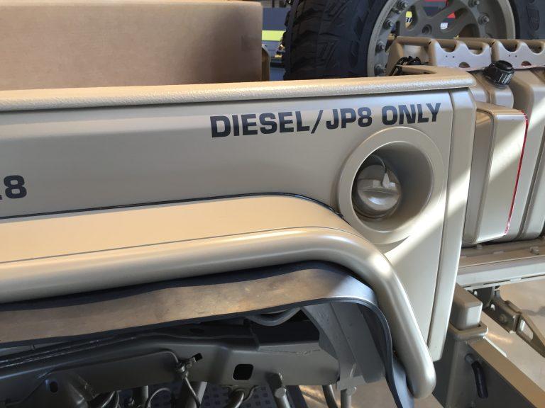 Jeep Commando JP8 Diesel in Camo Sand Color way Custom!