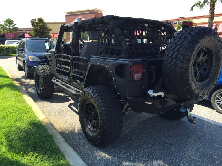 Jeep Hunter see Awesome Built out JK at Five Guys