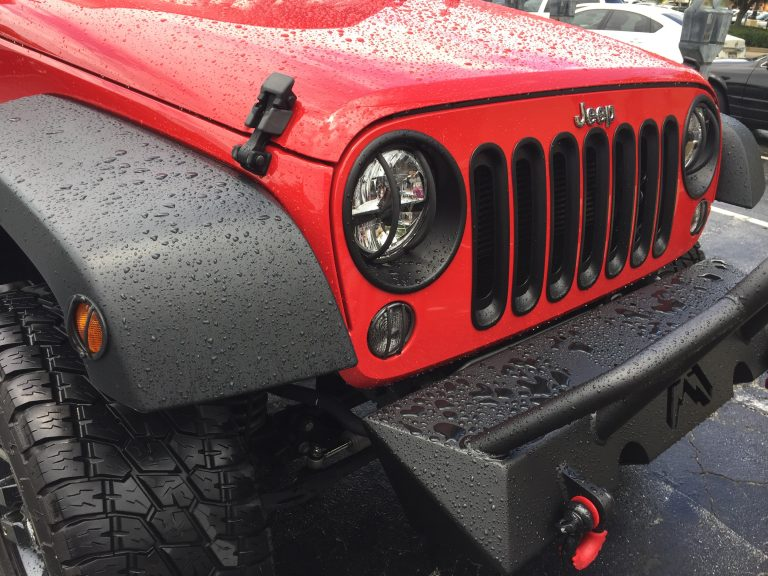 TheJeepHunter: A Red Monster Jeep in Bradenton FL