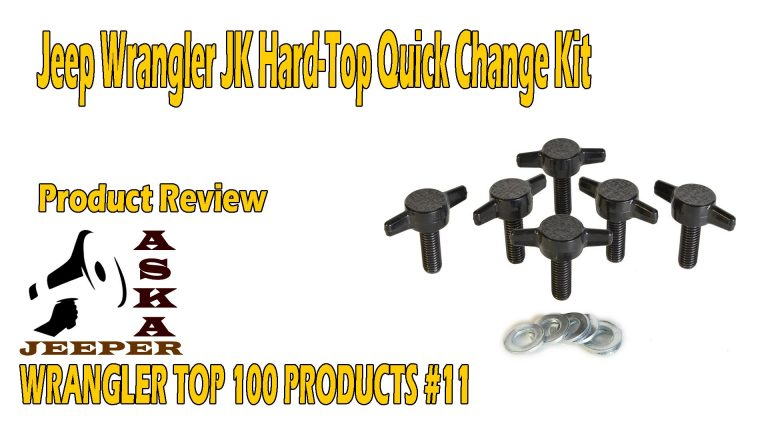 Rukse RK8210 Wrangler Hard Top Knob Kit 2002-2013